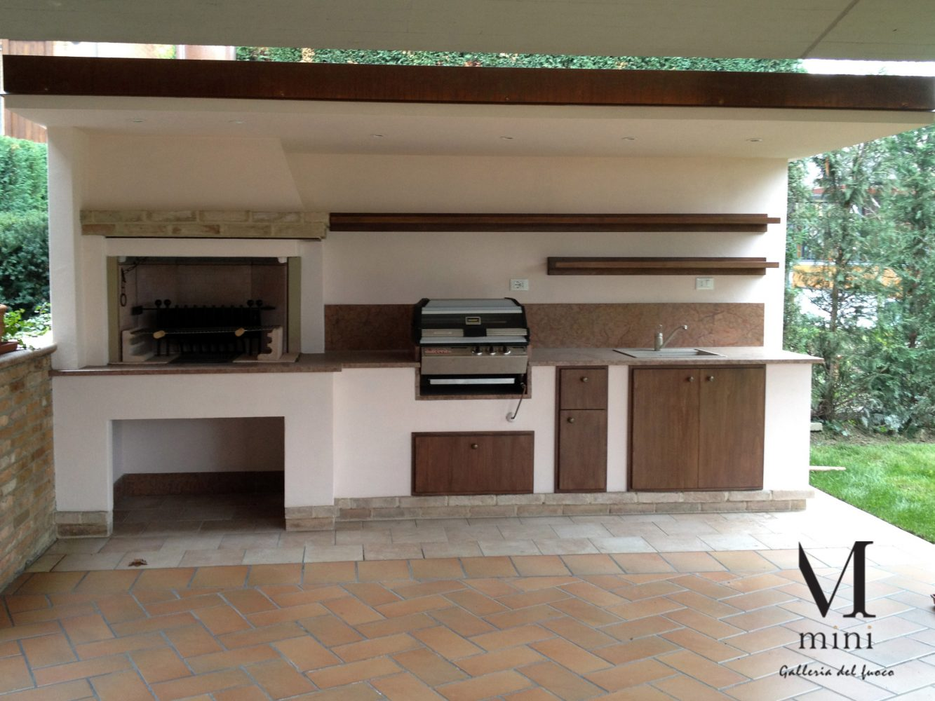 Barbecue camini e stufe mini srl for Barbacoas exteriores de obra